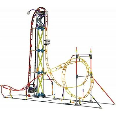 K'Nex Electric Inferno Roller Coaster Building Set Brand New
