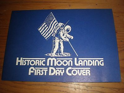 Firsts Moon Landing,usa First Day Cover,postmark Sept 1969 Washington,in Booklet