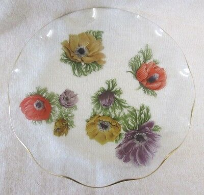 Vintage Chance Glass Plate Platter