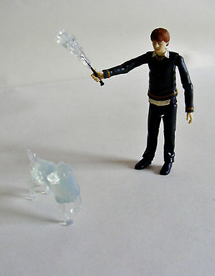Harry Potter Loose Figure Ron Weasley with Wand & Patronus Order of the Phoenix