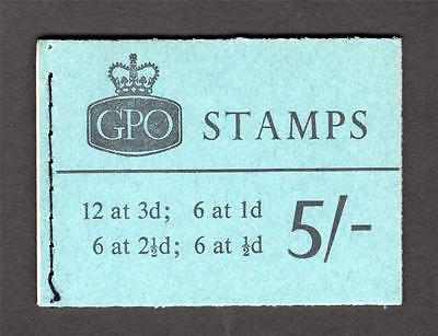 5/- BOOKLET MARCH 1961 Cat £80