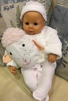 Zapf Creation Interactive Baby Annabell Doll 1998 Version