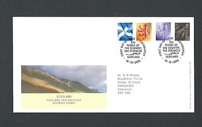 Great Britain 2003 Scotland Definitives FDC