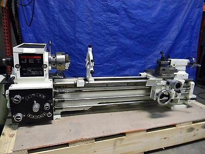 "Jet 13"" x 40"" Gap Bed Geared Head Bench Lathe 2HP 1PH 230V 321360A"