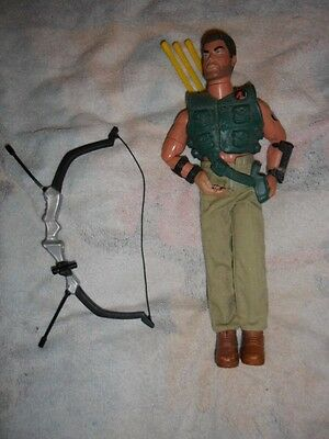 "ACTION MAN ARCHER  12"" Action Figure 12 Inch Complete with Arrows"