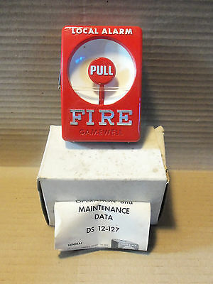 New in Box Gamewell Pull Station DS 12-127 Fire Alarm