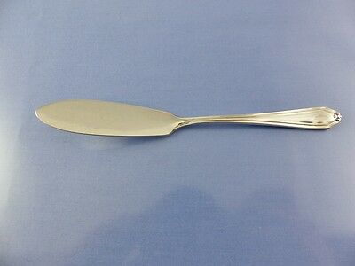 unknown PLAIN LINE BORDER BUTTER KNIFE BY BIRKS RODEN STERLING