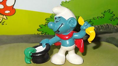 Smurfs Magic Hat Magician Smurf Rare Vintage Awesome Toy Figure Best Value