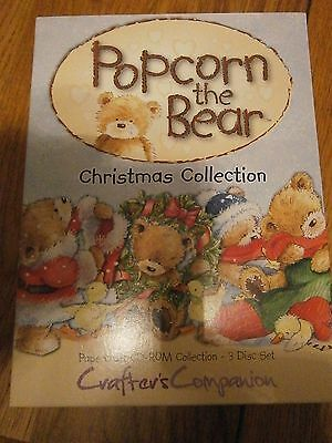 Popcorn the Bear Christmas Collection triple cd rom
