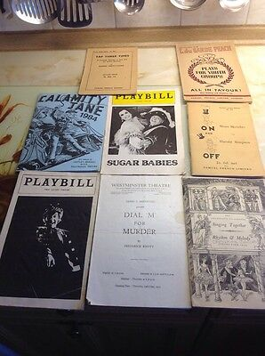 Vintage Music Hall And Theatre Memorabilia Mixed Lot