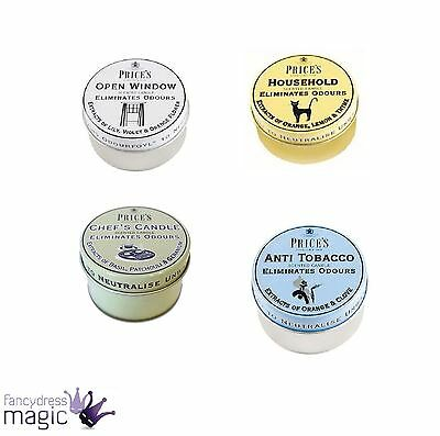 Prices Candles Odour Cancelling Fresh Air Range Tin Candle Home Kitchen Gift