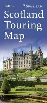 Visit Scotland Touring Map by Collins Maps (Sheet map, folded, 2017)