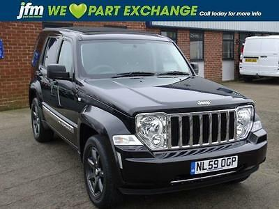 2009 JEEP CHEROKEE 2.8 CRD Limited Auto 37 MPG SUNROOF