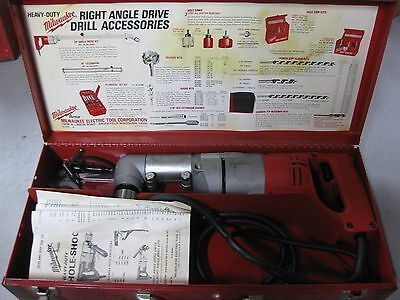 Milwaukee 1/2 in. Right Angle Drill  1201-1