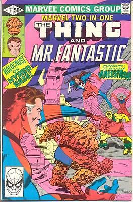 Marvel Two-In-One 71 from 81 - Thing and Mr Fantastic appears