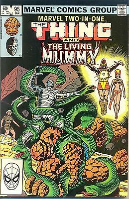 Marvel Two-In-One 95 from 83 - Thing and The Living Mummy appears