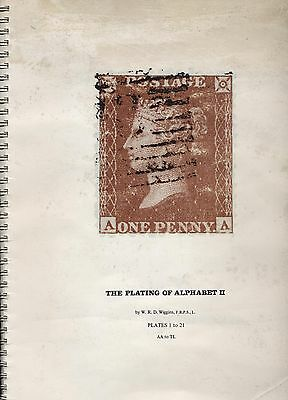 'THE PLATING OF ALPHABET II PLATES 1-21' BY Dr W.R D WIGGINS