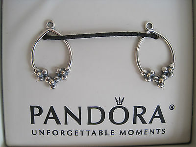 NEW PANDORA  Earring Charms .925 NEW IN JARED GALLERIA BOX