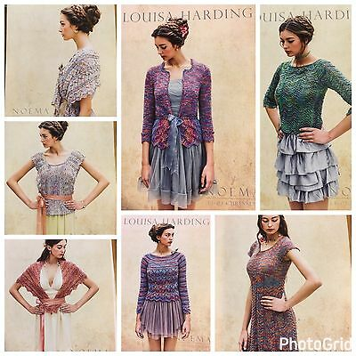 Seven Patterns Louisa Harding L101, L102, L103, L104, L105, L106, L107 - Noema