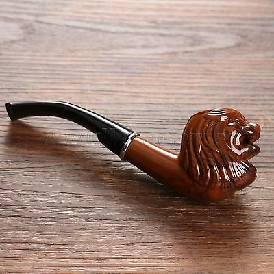Resin Wooden Enchase Smoking Tobacco Cigarette Cigar Pipe Safe Absorb Moisture