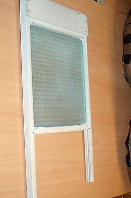 Vintage Glass Washboard Skiffle percussion Qs/A5