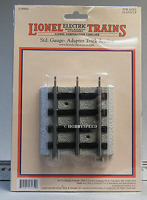 Mth Lionel Corp Tinplate Realtrax Standard Gauge Adapter Track Section 11-99010