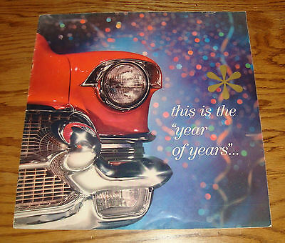 Original 1956 Cadillac This Is The Year of Years Deluxe Sales Brochure 56