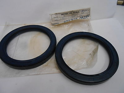 LOT OF TWO NAK TC 95mm I.D. X 120mm O.D. X 12mm THICK OIL SEALS