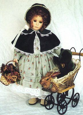 """Sewing outfit Clothes Coat Pattern fits 13 14"""" Little Darling  Kish Betsy dolls"""