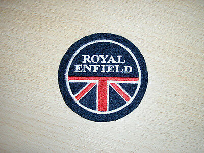 Classic Royal Enfield Union Jack Embroidered Patch-Bullet