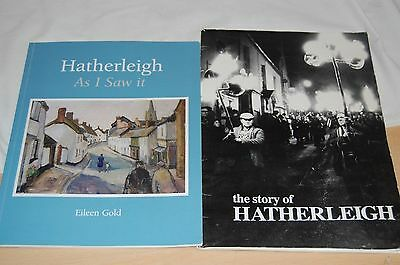 2 x books, Story of Hatherleigh & Hatherleigh as I saw it, North Devon  W/A1