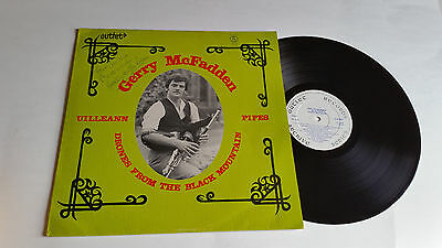 GERRY McFADDEN DRONES FROM BLACK MOUNTAIN UILLEANN PIPES OUTLET OAS 1980 SIGNED