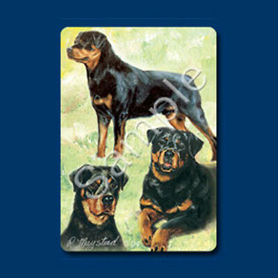 Playing cards: Rottweiler Dog Playing Cards Designed by Ruth Maystead (ROT-PC)