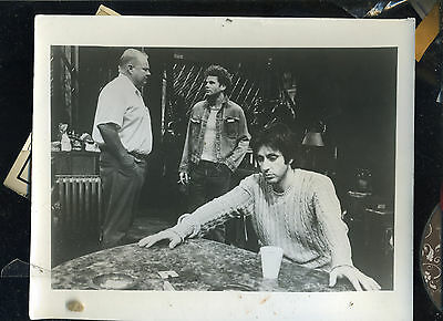 American Buffalo- 1981 - Al Pacino - First Pacino Revival  - 8 X10 W/ Caption