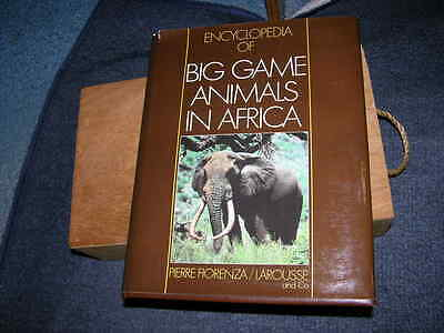 Encyclopedia of Big Game Animals in Africa with Their Trophies 1983 Paris