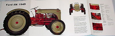 HUGE! FORD 8N 1949 TRACTOR POSTER picture print farm farmer 8 n
