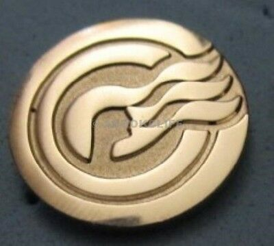PRINCESS Cruises CAPTAINS CIRCLE Gold Color Pin SEA WITCH Mint