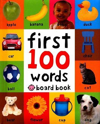 First 100 Words by Roger Priddy 9781849154208 (Board book, 2011)