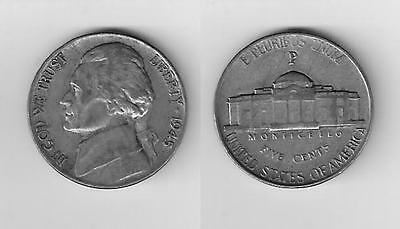 One 1945 P   35% Silver War Nickel in great   Condition