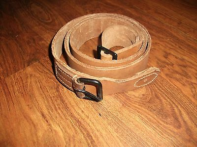 Japanese WWII General Purpose Leather Rifle Sling, Czech VZ 24 Rifle