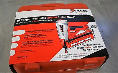Brand New Paslode T250A 500910 16 Gauge Pneumatic Angled Finish Nailer