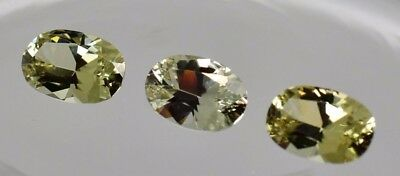 .75 Ct Zultanite Natural Loose Gems 7x4.5mm Exclusive 2017 Cutting Cert of Auth