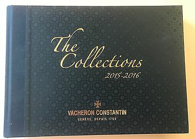 Vacheron Constantin - The Collections 2015 - 2016 - Hardcover Reference Book