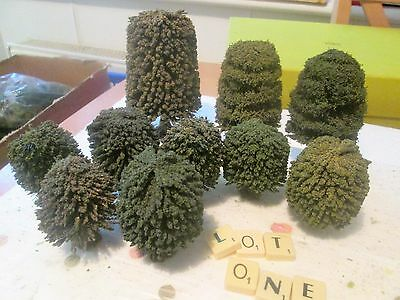 NOCH & OTHER MAKERS HO/OO GAUGE (JOB LOT) TREES LOT Number ONE (FREEPOST)