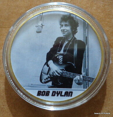 Bob Dylan     POP & ROCK MUSIC 24K GOLD  PLATED MEMORABILIA COIN  #2