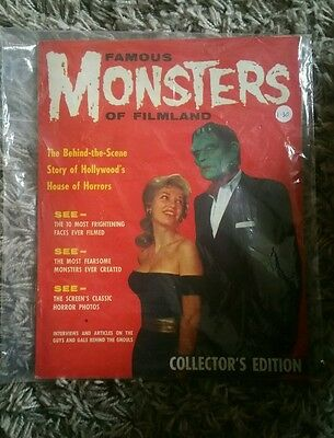 Famous Monsters of Filmland 1958 1st UK edition Magazine Comic REDUCED QUICK