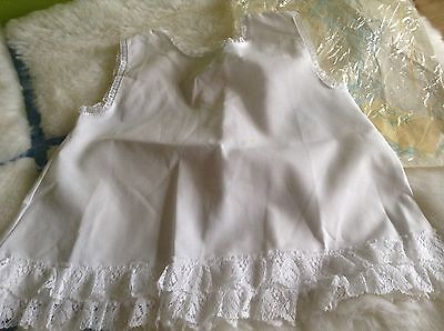 AUTHENTIC VINTAGE CLOTHING 1970s UNUSED BABY GIRLS PETTICOAT  6 MONTHS