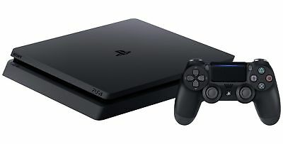 Sony PlayStation PS4 Slim 500GB / 1TB Console - Black - From Argos