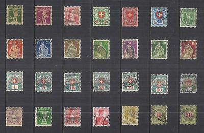 y815 Switzerland / A Small Collection  Early & Modern  Used