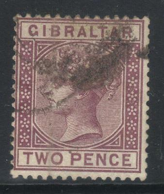 Gibraltar 1886-1887 Crown Ca Sg10 Used Cat £35